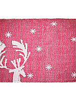 Fawn Insulation Pad in Table Linen for Christmas Dinner Table Party Decoration
