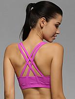 Otros ® Yoga Tops / Sujetadores Transpirable / Elástico / Reductor del Sudor / Copas Extraíbles / Suave Eslático Ropa deportivaYoga /