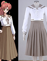 Costumes Cosplay - Sailor Jupiter - Sailor Moon - Top / Jupe