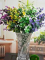 Household Adornment Grass Plastic Plants Artificial Flowers
