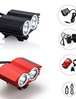 Luces para bicicleta ( A Prueba de Agua / Recargable / Bisel de Impacto / Táctico / Emergencia ) - LED 3 Modo 2400 Lumens Cree XM-L2-