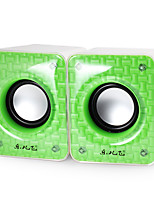 2 Pcs High Quality M20 Multimedia Speaker For Laptop/Phone/MP3/MP4