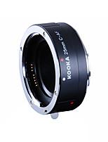 af alliage d'aluminium de tube d'extension kooka-de C25A de l'exposition automatique TTL pour Canon 25mm entrées ef&Les appareils