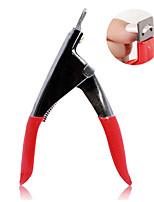 manicure tipo de ferramenta u unhas tesoura cortar um corte de três formas