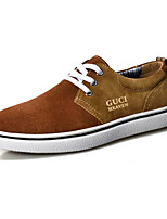 Men's Shoes Office & Career / Casual Suede Oxfords Blue / Khaki