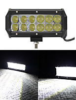 60W OSRAM LED   Bar Fog Spot Lights 4x4 SUV Boat Truck Trailer ATV Car Auxiliary Headlight Offroad Driving Lamp