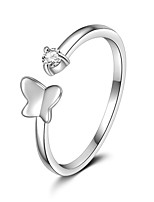 925 Sterling Silver Ring With Butterfly Design