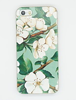 Para Funda iPhone 5 Diseños Funda Cubierta Trasera Funda Flor Suave TPU iPhone 7 Plus / iPhone 7 / iPhone SE/5s/5
