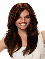 European Lady Women Wig Syntheic Wave Wigs Extensions Beautiful Color Is Deep Brown