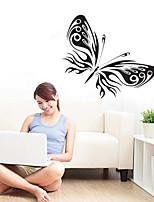 Animais / Botânico / Romance / Vida Imóvel / Moda / Floral / Fantasia Wall Stickers Autocolantes de Aviões para Parede , PVC50x70 x0.1cm