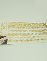 10/PCS Hot Sale Color-Changing Tattoo Handsome Multi-Style Temporary Tattoo For Fashion WST-228