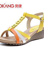 Aokang® Women's Leatherette Sandals - 132823802