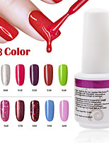 1PCS 9ml UV Color Gel Phototherapy Glue Nail Polish 49#-60#