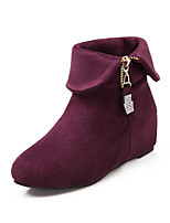 Women's Boots Fall / Winter Wedges / Heels / Platform / Riding Boots / Bootie / Comfort / Combat Boots / Round Toe