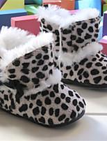 Baby Shoes - Tempo libero / Formale / Casual - Stivali - Pelo di vitello / Finta pelle - Nero / Marrone