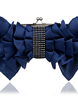 L.west Women Personality Bowknot Evening Bag