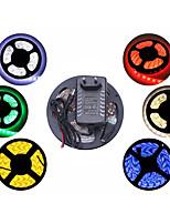 5m impermeabile 150x5050 SMD luce di striscia e connettore e AC110-240V a dc12v3a noi au eu uktransformer