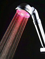 Red Color Kitchen Sink Universal Adapter LED Faucet Nozzle (Monochrome)