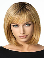 Charming Color Blonde Extensions European Lady Women Wig Syntheic  Wigs