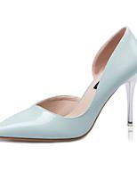 Women's Shoes Fleece Stiletto Heel Heels Heels Casual Black / Blue / Purple / Red / White / Gray