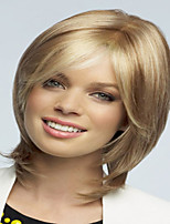 Honest Price Lovely Blonde Color Extensions European Lady Women Wig Syntheic  Wigs