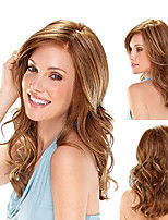 Lady Women  New Arraval Syntheic Dark Blonde Miduim Wave Wigs