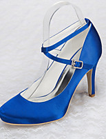 Women's Wedding Shoes Heels / Platform Heels Wedding / Office & Career / Party & Evening / Dress Blue