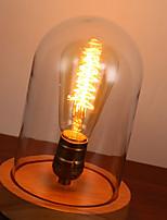 Lampes de bureau - Moderne/Contemporain / Traditionnel/Classique / Rustique/Campagnard - Bois/bambou - LED