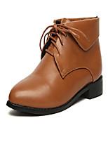 Scarpe Donna - Stivali - Casual - A punta - Quadrato - Finta pelle - Nero / Marrone
