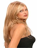 donne della signora europei parrucca estensioni delle parrucche dell'onda syntheic bel colore è bionda