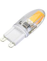 3 G9 Двухштырьковые LED лампы T 1 COB 300 lm Тёплый белый / Холодный белый Регулируемая AC 220-240 V 1 шт.