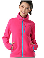 Women's Fleece Jackets Camping & Hiking Breathable / Quick Dry /Static-free / Thermal / Warm Autumn / Winter
