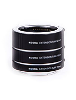 KOOKA KK-SE47 AF Brass Macro Extension Tubes for Sony E-Mount (10mm 16mm 21mm) Cameras