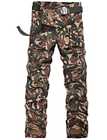New men in winter camouflage overalls Tide male han edition bag trousers