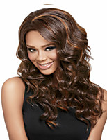 Women Synthetic Mixture Color Long Wave Wigs Superior In Quallity And Reasonable In Price