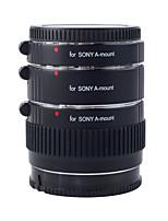 -S68 de laiton af 3 les tubes d'extension Kooka avec l'exposition auto TTL pour Sony (12mm 20mm 36mm) des appareils photo reflex