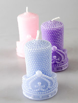 Pearl Cylindrical European Style Candles Holiday / Music Modern/ Romantic Wedding 1PC
