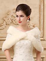 Sleeveless Wedding Wraps Imitation Cashmere Capelets/Wraps/Shawls