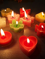 Heart-shaped Fragrant Smokeless Small Candle for Wedding Birthday Confession Party Gift(24pcs/set)
