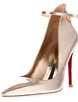 Women's Shoes Patent Leather Stiletto Heel Heels / Pointed Toe Heels Party & Evening / Dress / Casual Gold