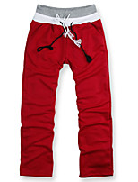 Men's Sweatpants , Casual Pure Polyester