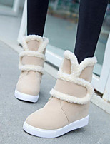 Women's Shoes New Arrival Thicken Warm Flat Heel Comfort / Round Toe Boots Dress / Casual