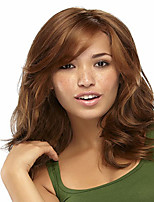 Lady Women  New Arraval Syntheic Brown Miduim Straight Wigs