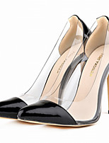 Women's Shoes Patent Leather / Leatherette Stiletto Heel Heels / Pointed Toe Heels Party & Evening / Dress / CasualBlack