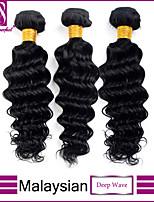 cabelo virgem onda profunda indiano malaio cabelo onda profunda onda profunda 3pcs cabelo malaio muito