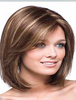 Gradient Color Synthetic Medium Wigs To European Women Lady High Quality