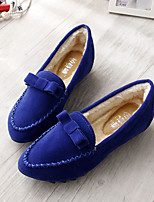 Women's Shoes Suede Flat Heel Comfort / Pointed Toe / Closed Toe Loafers Dress / Casual More Colors Available