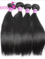 4Pcs/Lot Brazilian Virgin Hair Straight Grade 6A 100% Unprocessed Human Hair Straight Brazilian Straight Hair