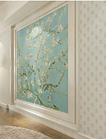 Home Decor Art Pink Floral Solid Contemporary Wallpaper Wall Covering PVC Wall Paper 10*0.45 M