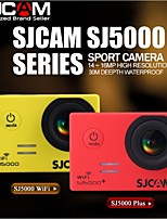 sj5000 originales marca sjcam además 1080p wifi deporte 60fps dv sj5000 + cámara de acción ambarella 30m videocámara resistente al agua